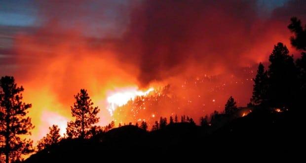 Uso de drones para la gestión de incendios forestales.