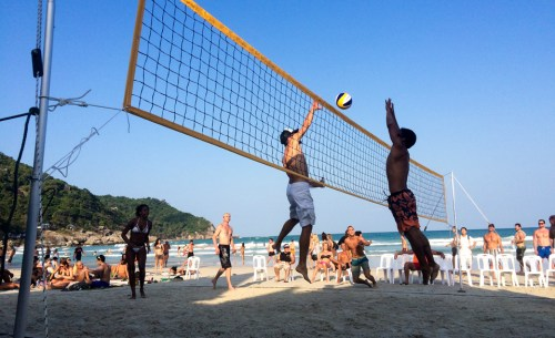 Haad Rin Beach Volleyball Tournament