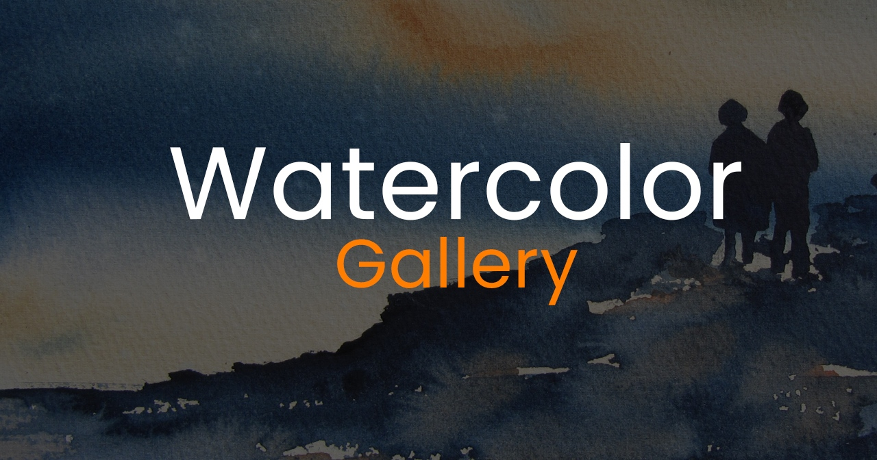 Watercolor gallery