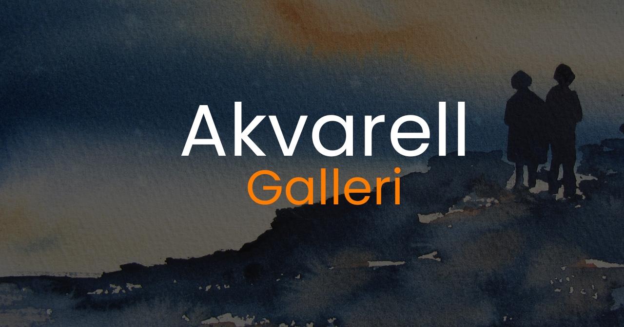 akvarell galleri