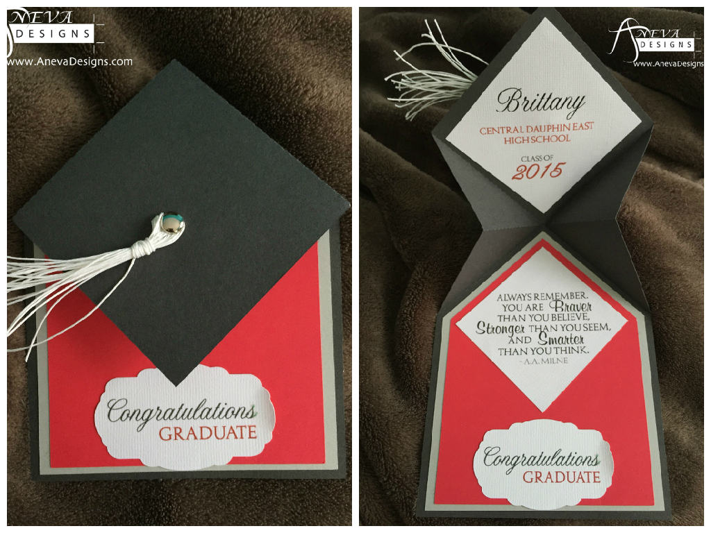 Laser Cut Graduation Invitations