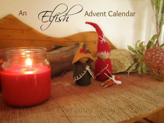 An Elf Advent Calendar