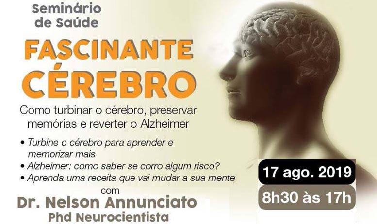 Fascinante Cérebro – com Dr. Nelson Annunciato