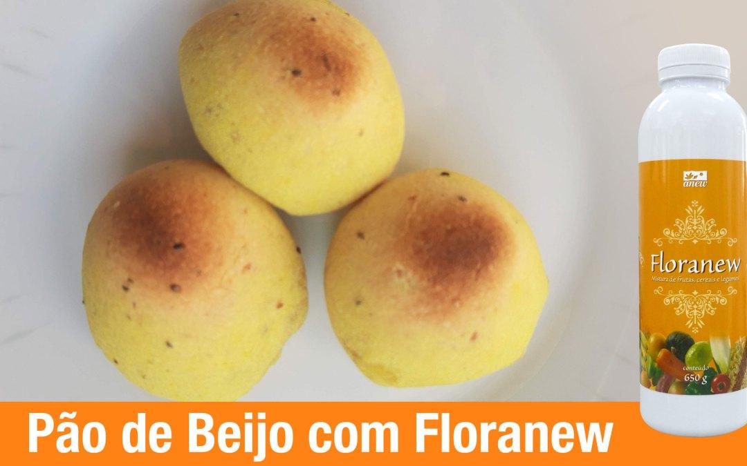 Receita Pão de Beijo com Floranew
