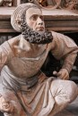 Self Portrait of Adam Kraft, the Sculptor of St. Lorenz's Tabernacle.