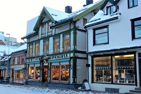Adorable Victorian wood buildings.