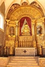 The Baroque altar. Rather plain, isn't it?