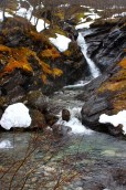 More dramatic falls from glacial runoff.