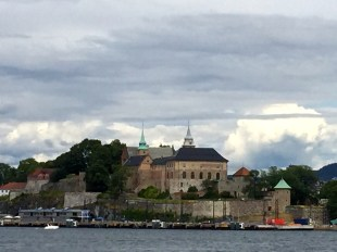 King Håkon V built Akershus Fortress in 1300, and King Christian IV modernized it into a Renaissance palace in the early 1600s.