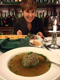 Liver dumpling soup -- seriously yummy!!!