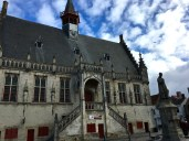 Damme's stately 15th-century City Hall, made of limestone while everything else is made of brick, points to the wealth that herring fishing once brought into the town.