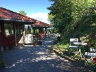 """Our favorite coffee stop along the way is Rodeløkken Café, which offers pastries, sandwiches, and beer, too. Originally called """"Henningslyst"""" (Henning's Bright), the place was built in 1780 as a summer cottage for Colonel Henning Hesselberg."""
