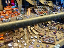 Check out the gorgeous antique and modern jewelry that can be purchased at equally pretty prices.