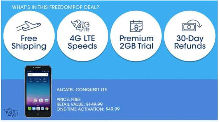 Cell Phones For Free With FreedomPop
