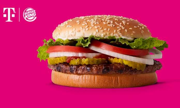 T-Mobile Has Partnered With Burger King