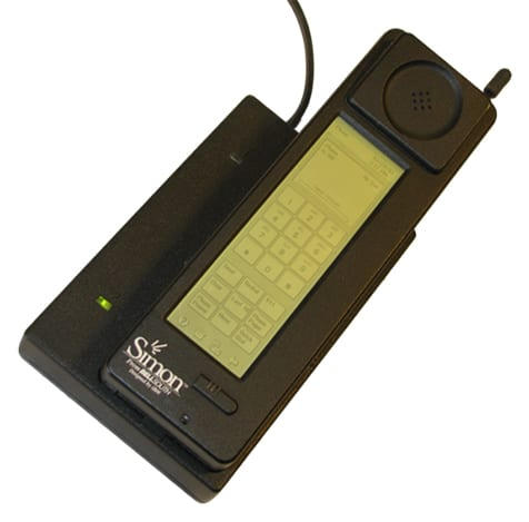 IBM Simon - Cell Phone History