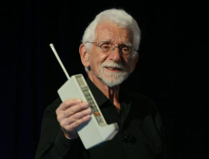 The First Cell Phone - Cell Phone History