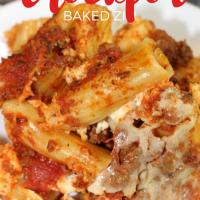 Easy & Delicious Crockpot Baked Ziti Recipe
