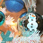 Disney Frozen Christmas Tree – DIY Olaf Ornament