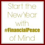 Start the New Year with #FinancialPeace of Mind