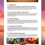 Book of Life Three Kings Day Celebration Ideas