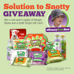 Enter the Nanny Knows Best Boogie Wipes Giveaway to WIN a $100 Target GC