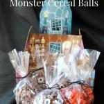 Spooky Monster Cereal Balls {Recipe}