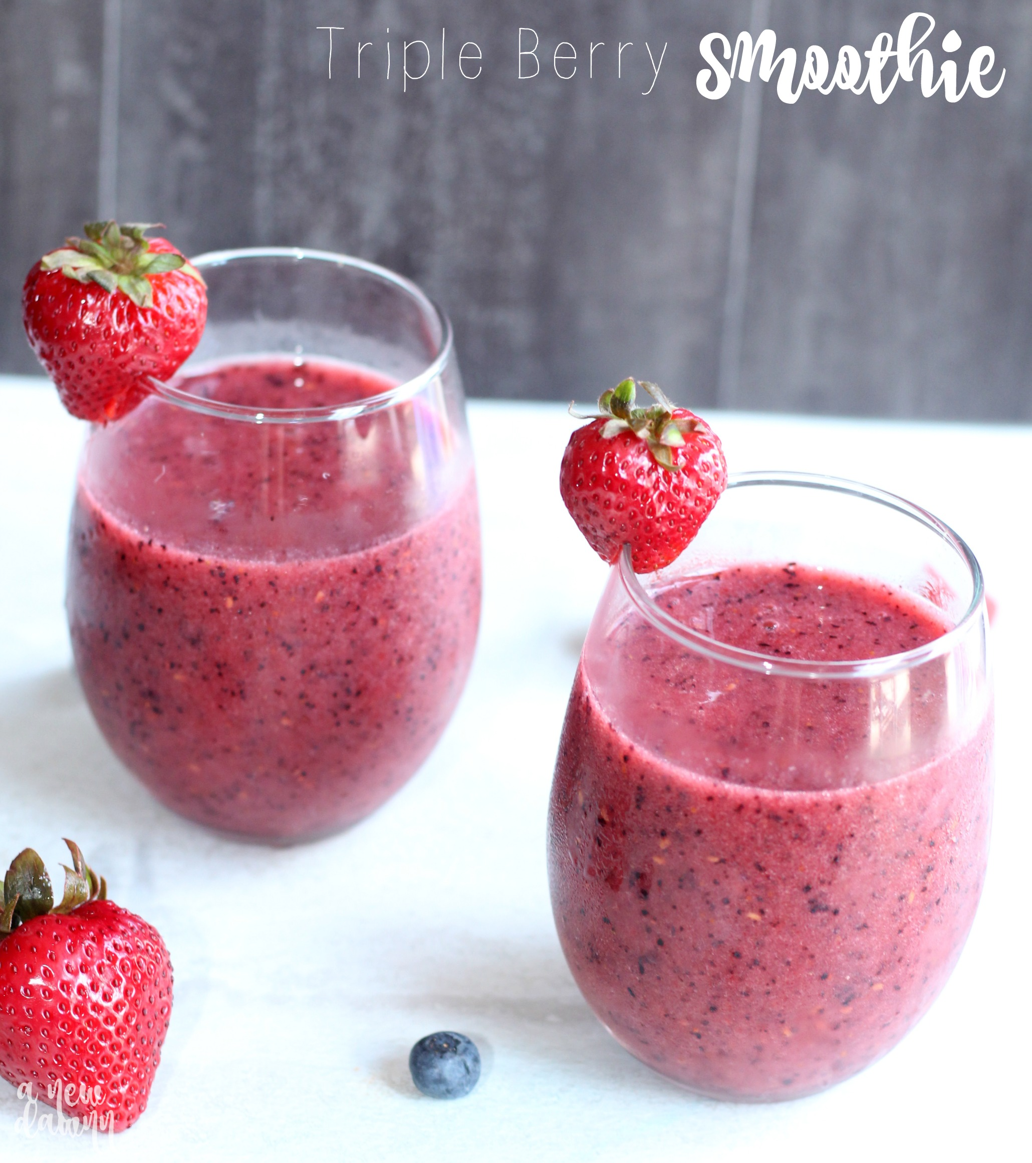 Triple-Berry-Smoothie
