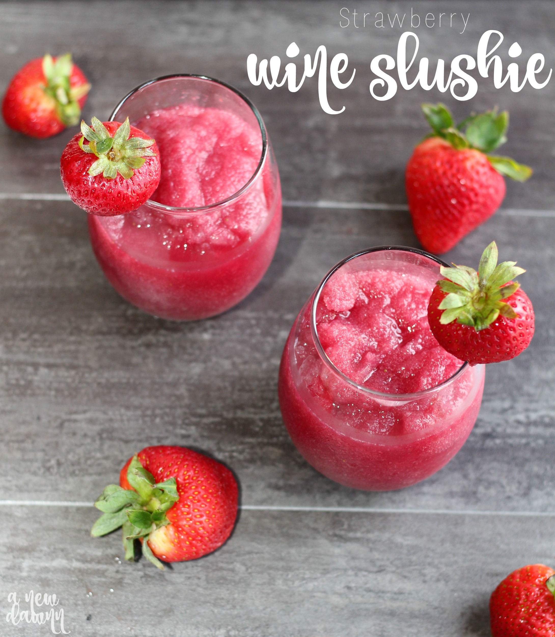 Strawberry-Wine-Slushie