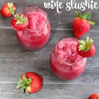 Strawberry-Wine-Slushie