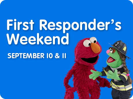 Sesame Place First Responders Weekend