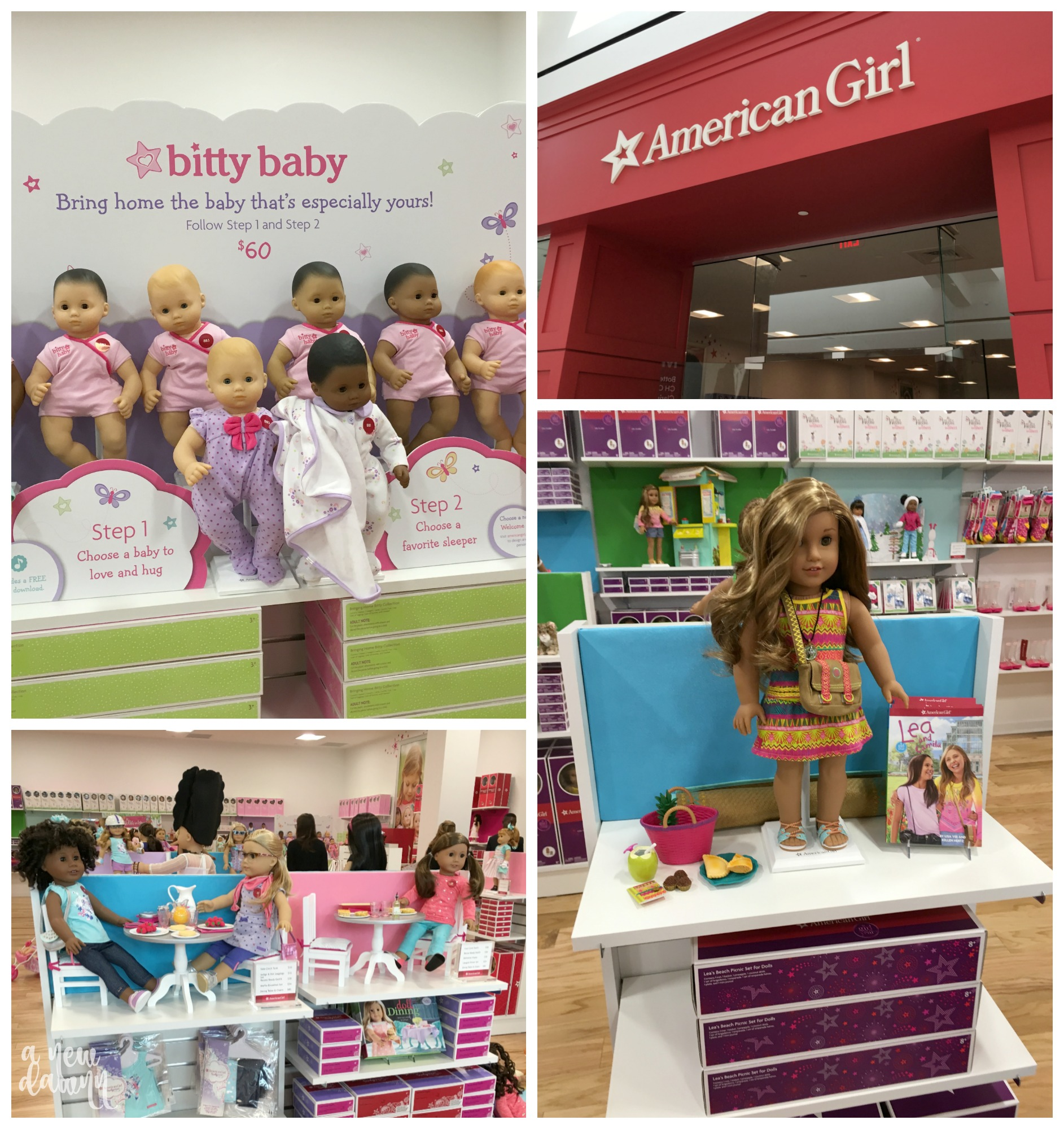 American Girl at the King of Prussia Mall open now!