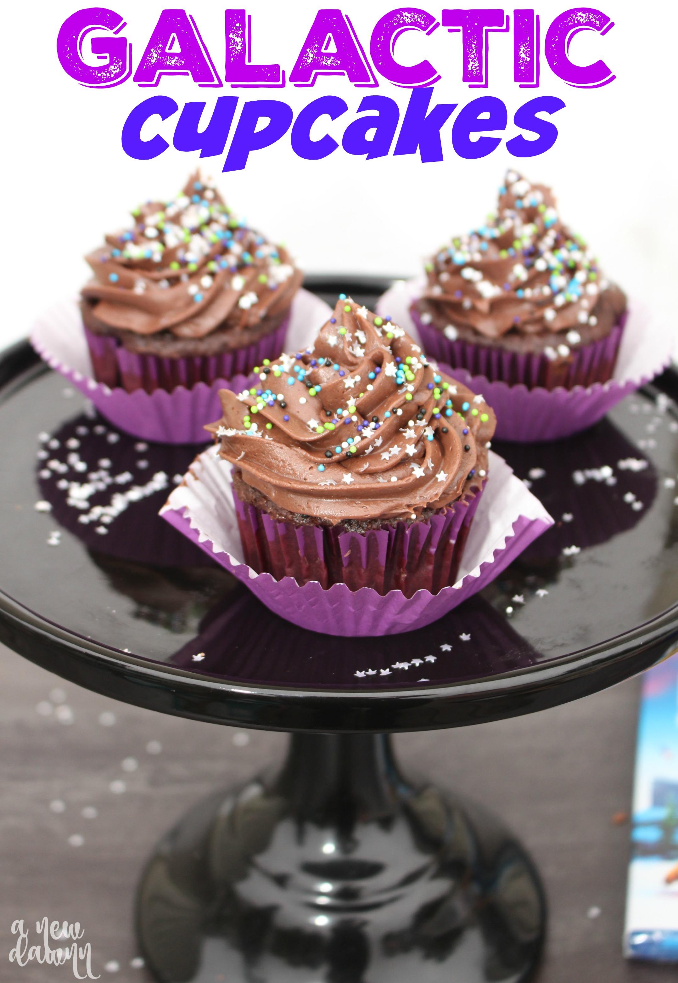 Ice Age Galactic Cupcake Recipe