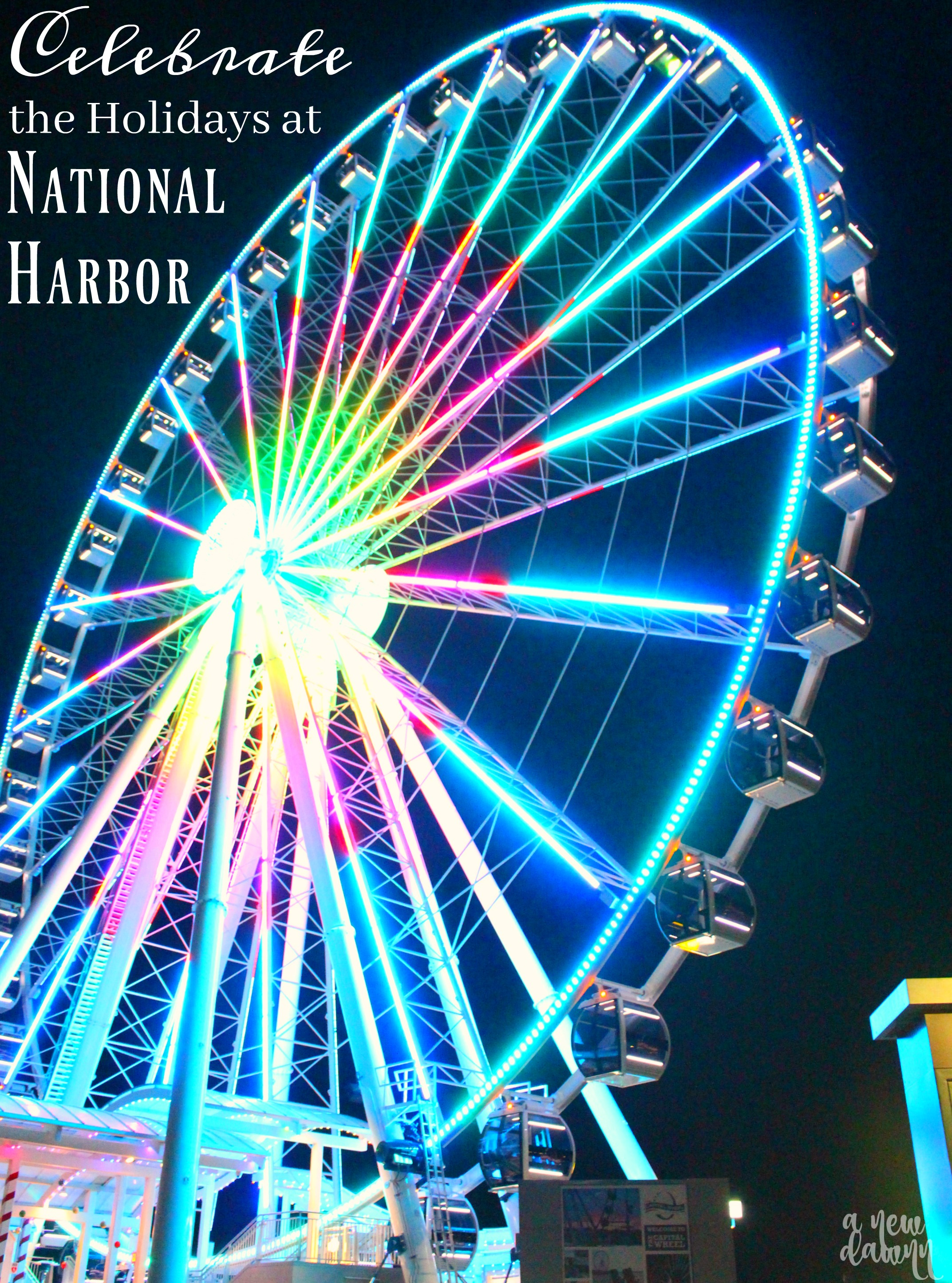Celebrate the Holidays In National Harbor