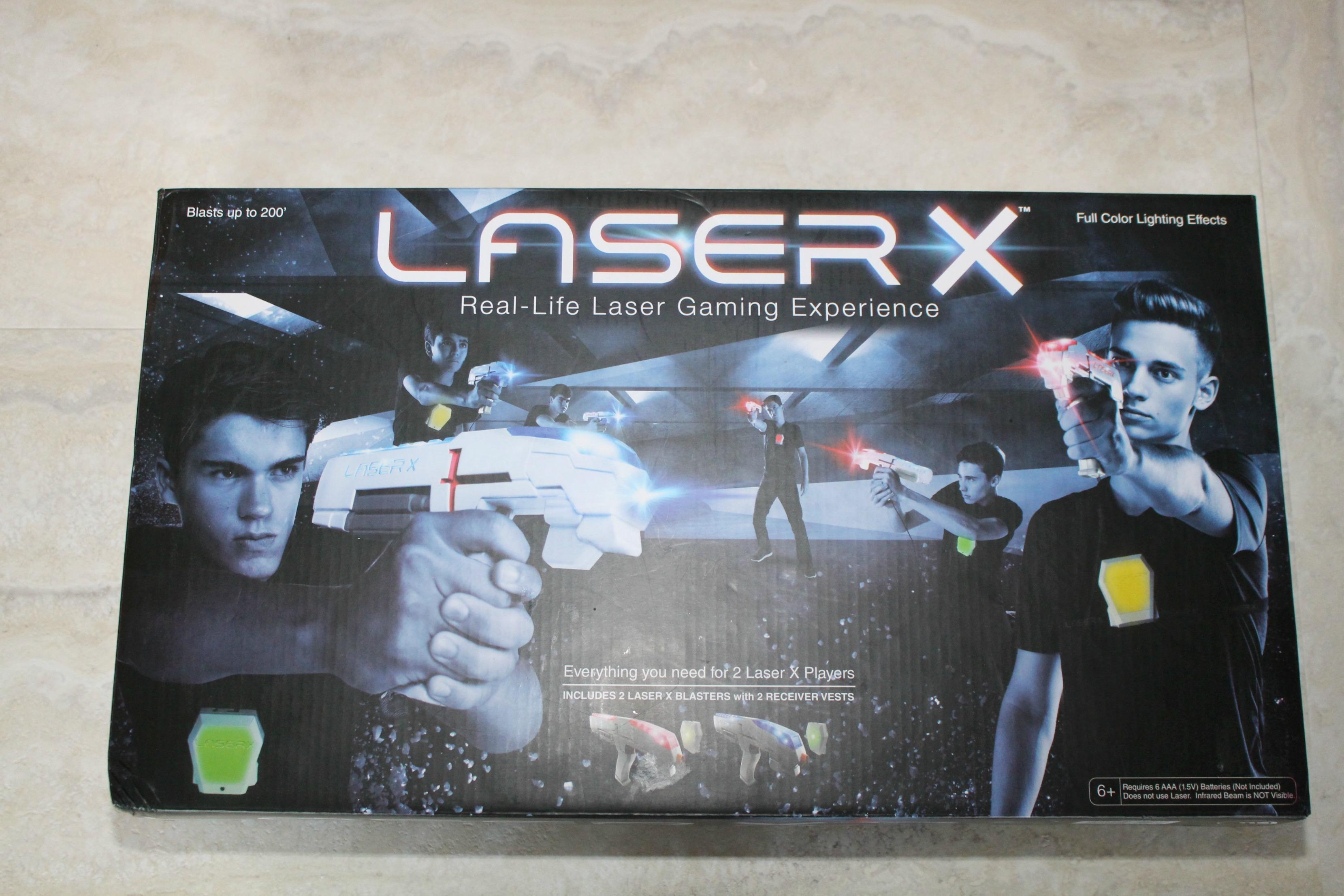 Laser-X Laser Tag Game