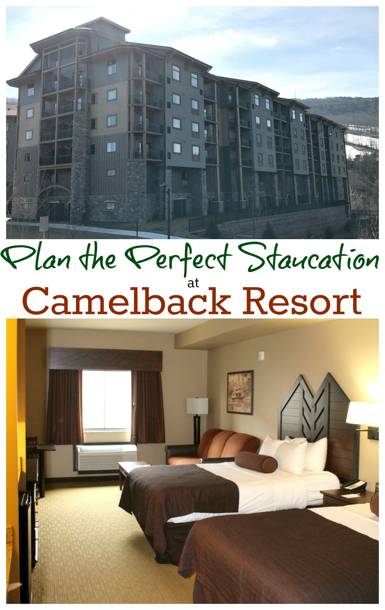 Plan the Perfect Staycation at Camelback Resort