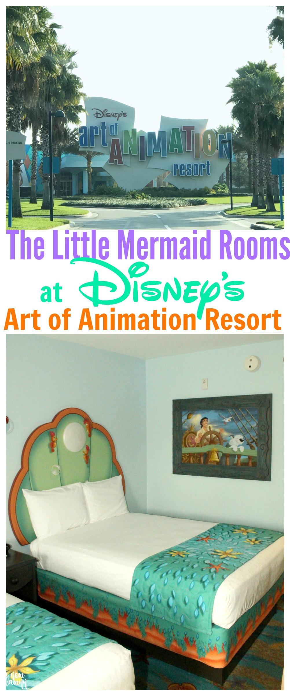 Disney's Art of Animation Resort - The Little Mermaid Rooms