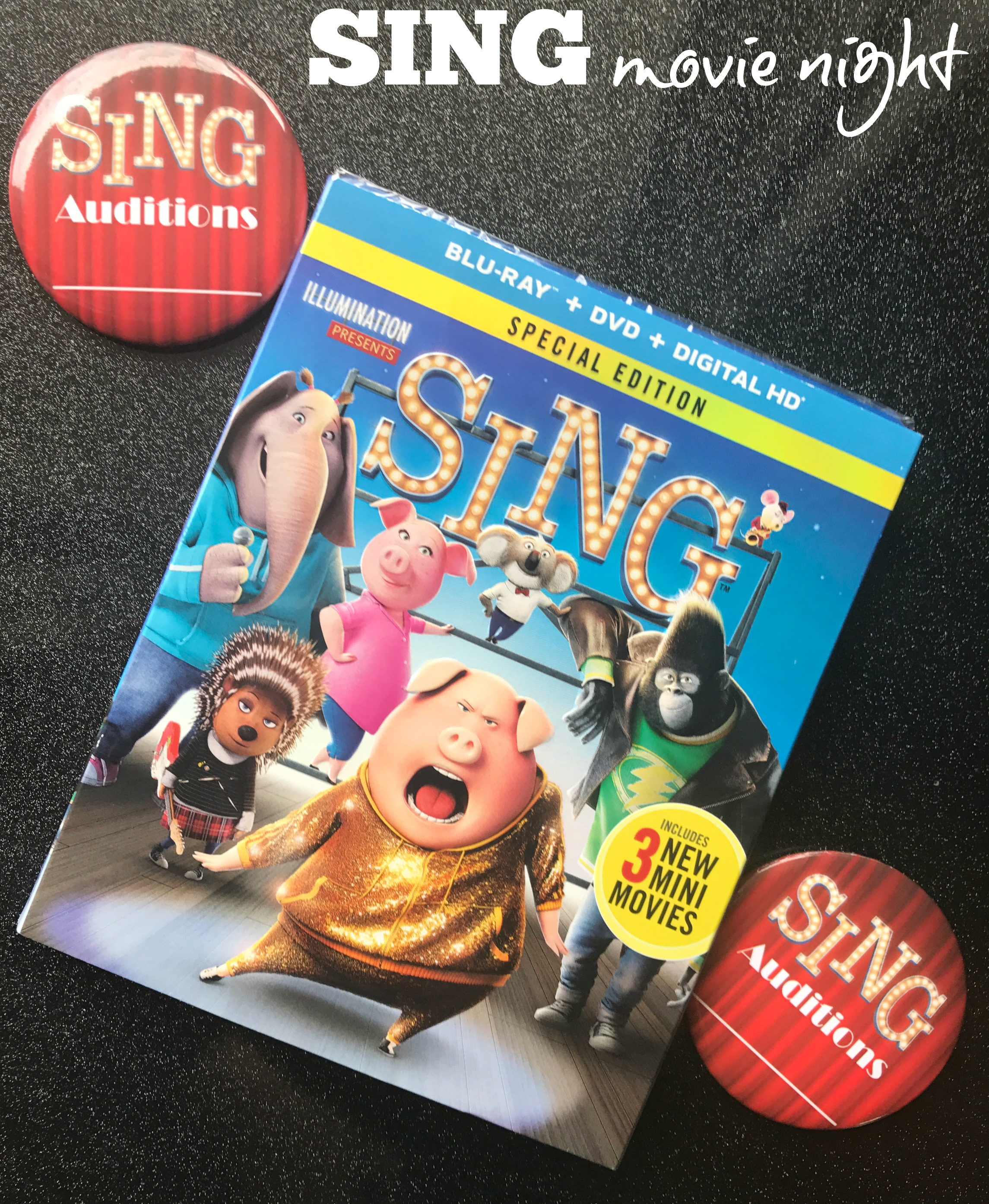 SING Movie Night