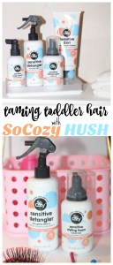 Taming Toddler Hair with SoCozy HUSH
