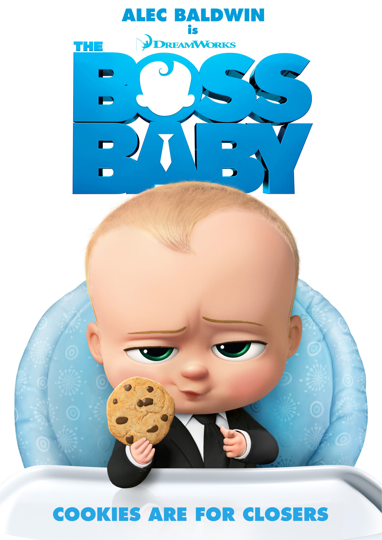 THE BOSS BABY CLOSER COOKIES
