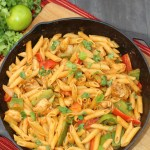 Cheesy Chicken Fajita Pasta Recipe – A New Dawn