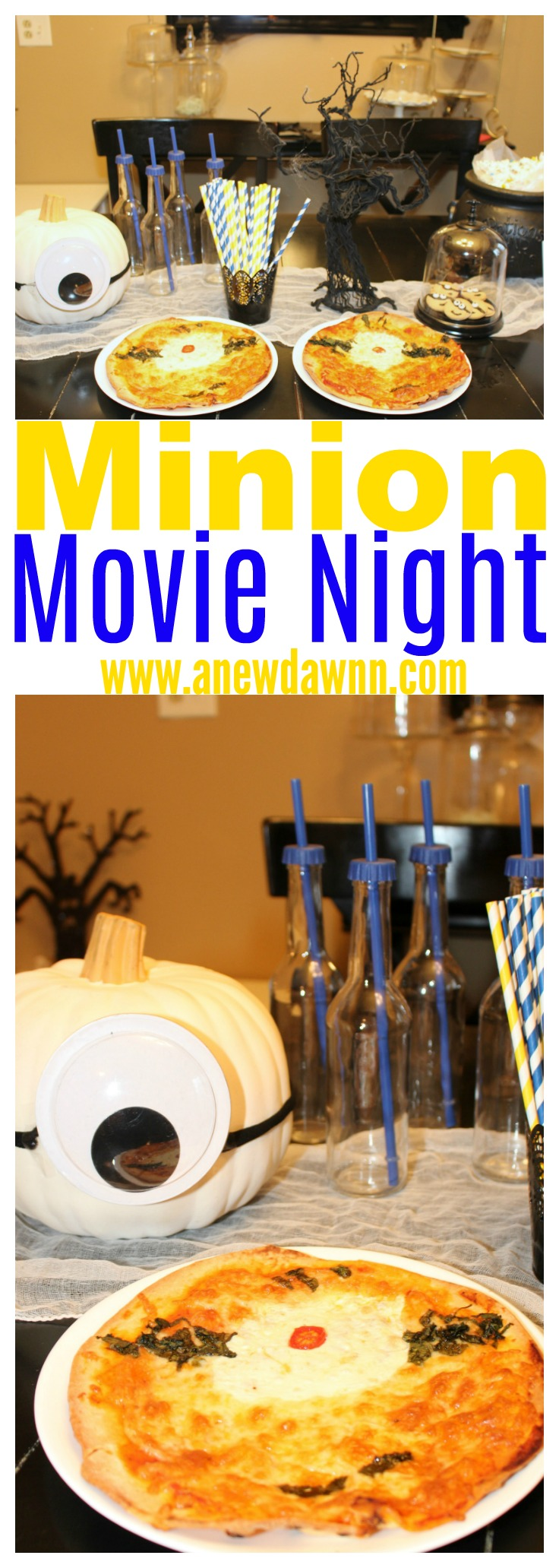 Minion Halloween Movie Night with #MoviesAnywhere #AnywhereIsHere