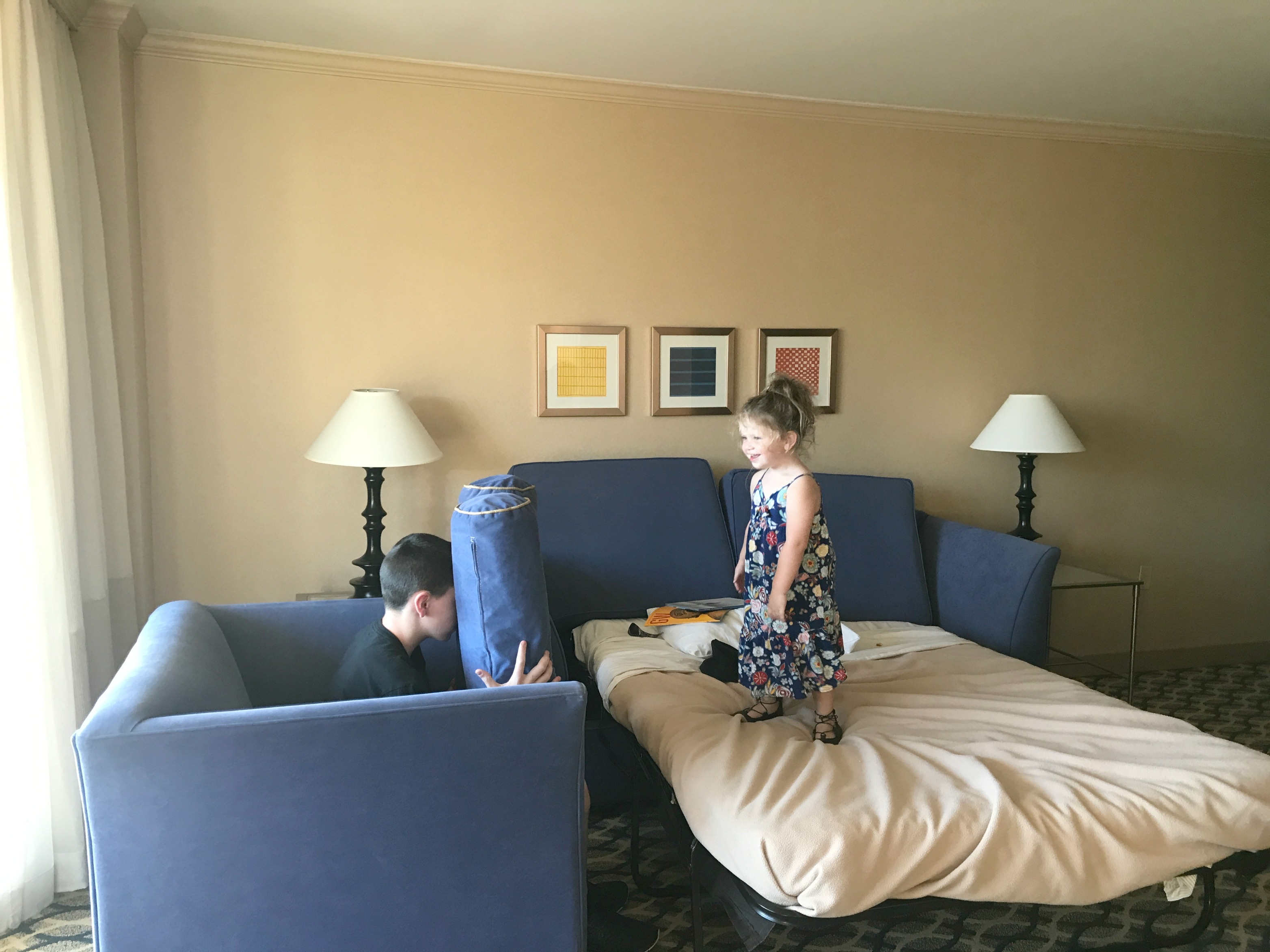 What It's Like to Stay at One Washington Circle Hotel