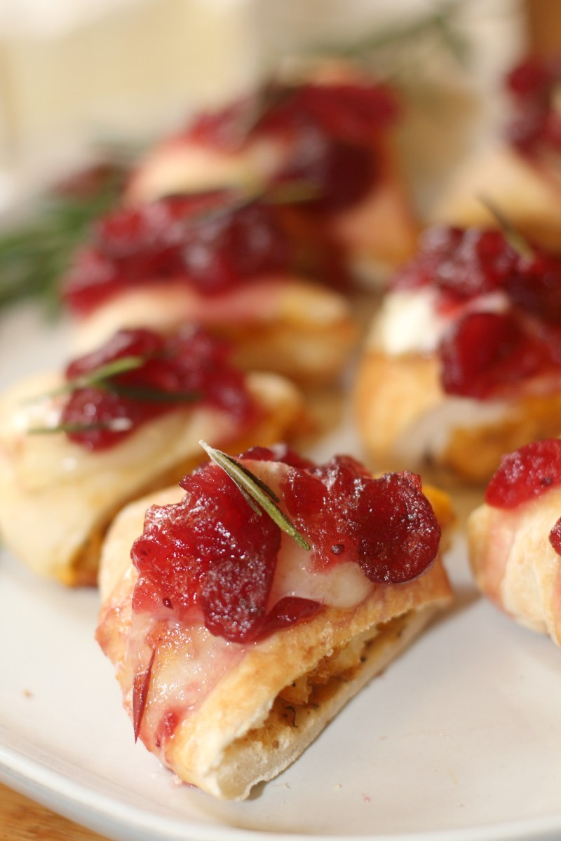 Cranberry Brie Chicken Bites - A Must Have on your Dinner Menu
