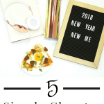 5 Simple Changes for a Healthier Me