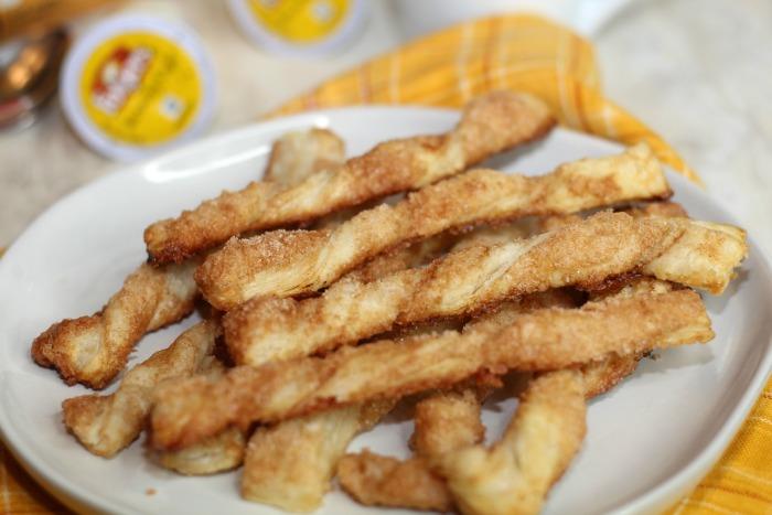 3 Ingredient Cinnamon Twists