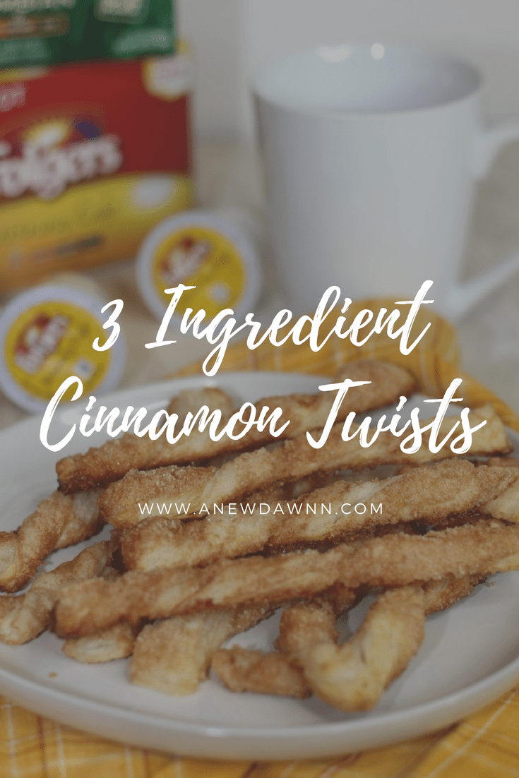 3 Ingredient Cinnamon Twists
