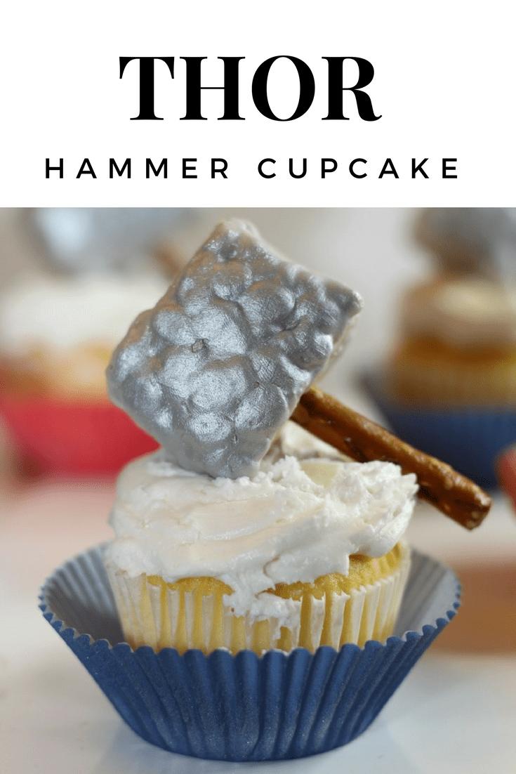 Thor Hammer Cupcake - THOR Ragnarok
