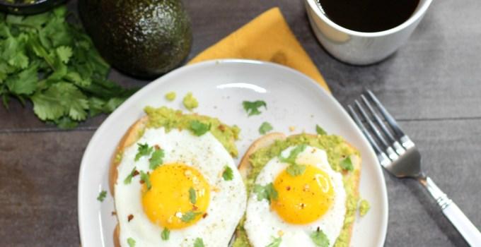 5 Minute Avocado Toast with Egg Recipe