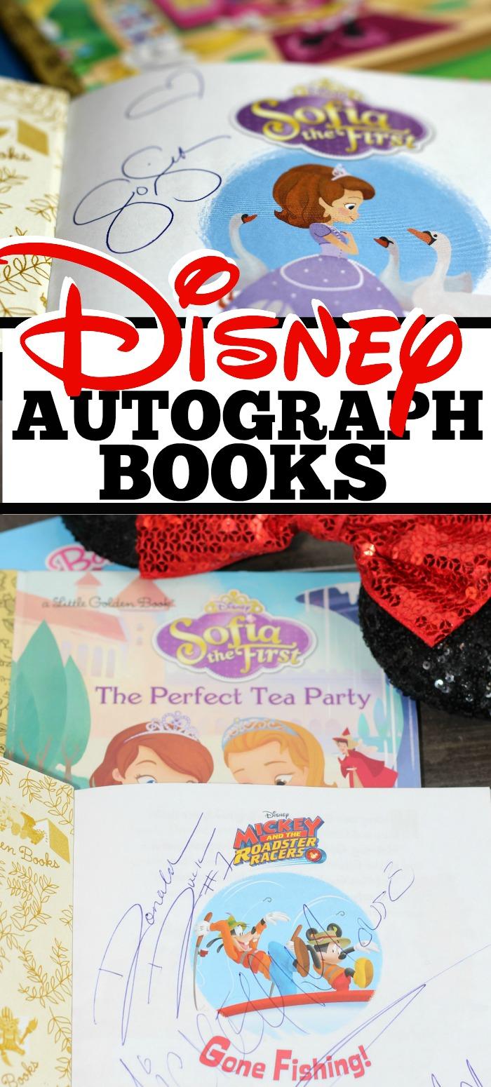 10 Unique Disney Autograph Book Ideas